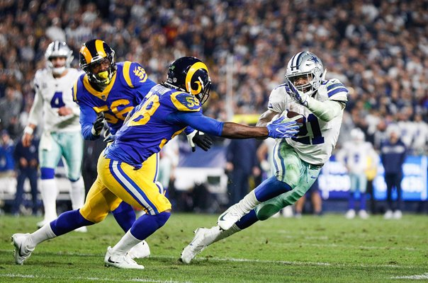 Cory Littleton Los Angeles Rams v Ezekiel Elliott Dallas Cowboys 2019