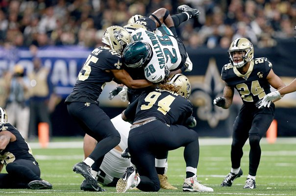 Wendell Smallwood Philadelphia Eagles v Saints NFC Playoffs 2019