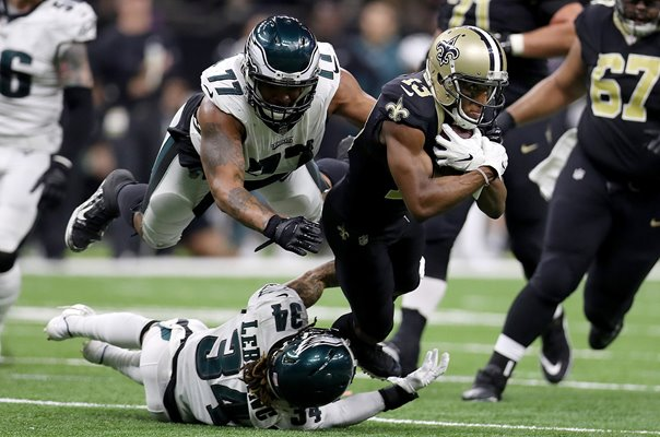 Michael Thomas New Orleans Saints v Eagles NFC Playoffs 2019