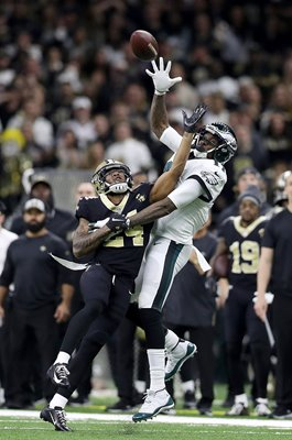Alshon Jeffery Philadelphia v Vonn Bell New Orleans Playoffs 2019