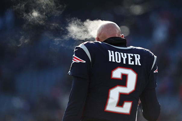 Brian Hoyer New England Patriots v Chargers Foxborough Playoffs 2019