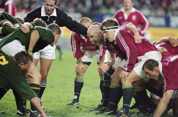 Keith Wood British Lions v South Africa 1st Test 1997