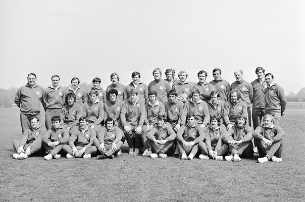 British Lions Rugby Squad New Zealand Tour 1971
