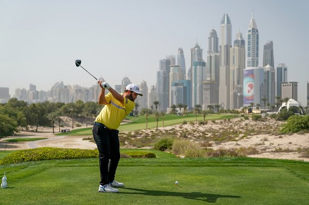 Andrew Johnston Dubai Desert Classic Emirates Club Dubai 2019