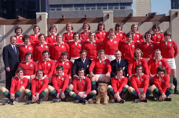 "British Lions ""The Invincibles"" South Tour 1974"