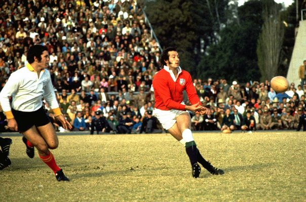 Gareth Edwards British Lions Scrum Half South Africa 1974