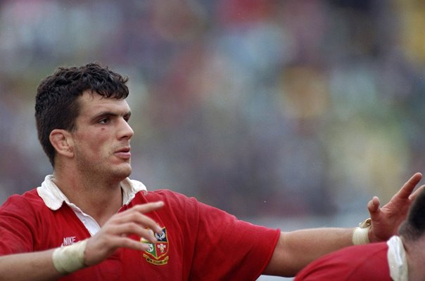 Martin Johnson British Lions New Zealand Tour 1993