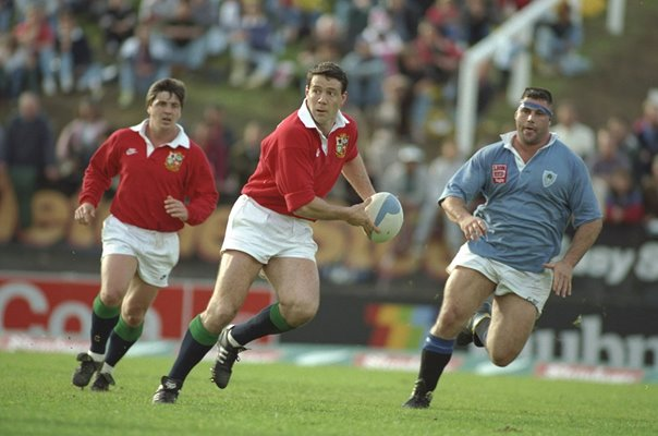Scott Hastings British Lions v North Auckland New Zealand Tour 1993