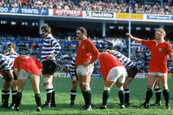 Bill Beaumont & Maurice Colclough British Lions v Western Province 1980