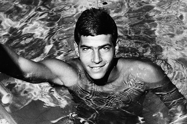 Mark Spitz USA Swimmer Crystal Palace London 1967