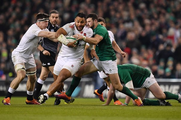 Billy Vunipola England v Ireland Dublin Six Nations 2019