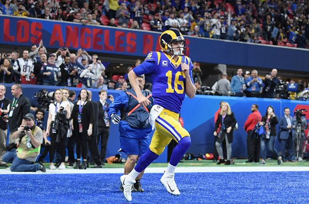 Jared Goff Los Angeles Rams Quarterback Super Bowl 2019