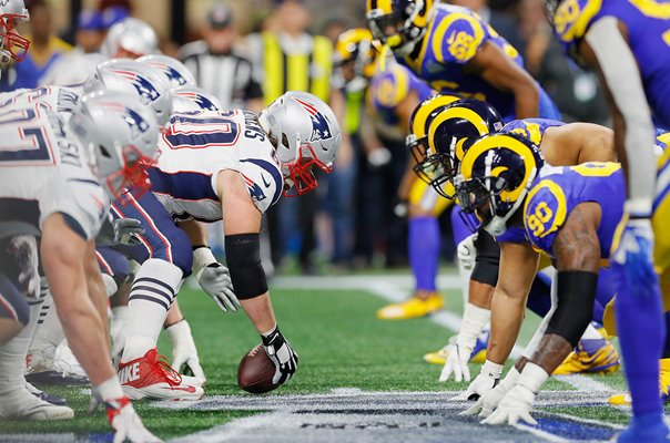 New England Patriots face Los Angeles Rams Super Bowl 2019