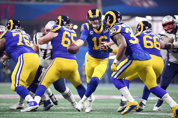 Jared Goff & Todd Gurley Los Angeles Rams Super Bowl 2019