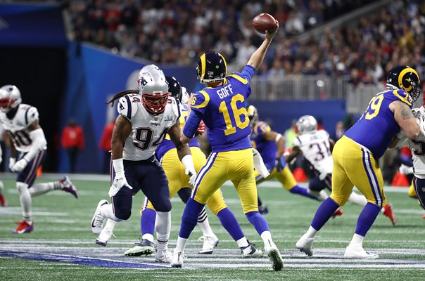 Jared Goff Los Angeles Rams v New England Patriots Super Bowl 2019