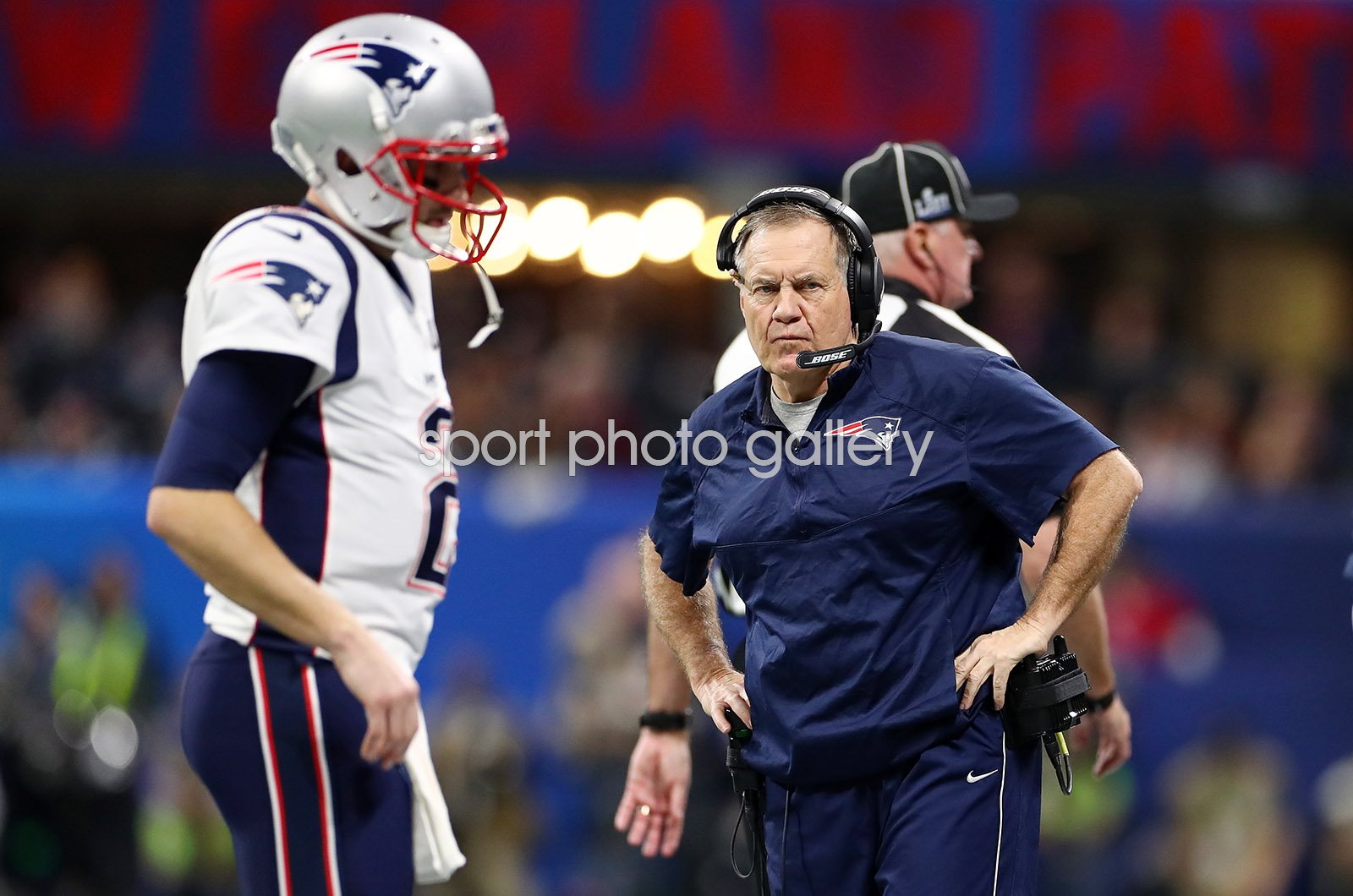 Bill Belichick New England Patriots Super Bowl Atlanta 2019