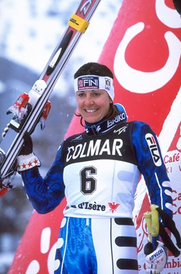 Deborah Compagnoni Italy Ski Worlds Val d'Isere France 1998