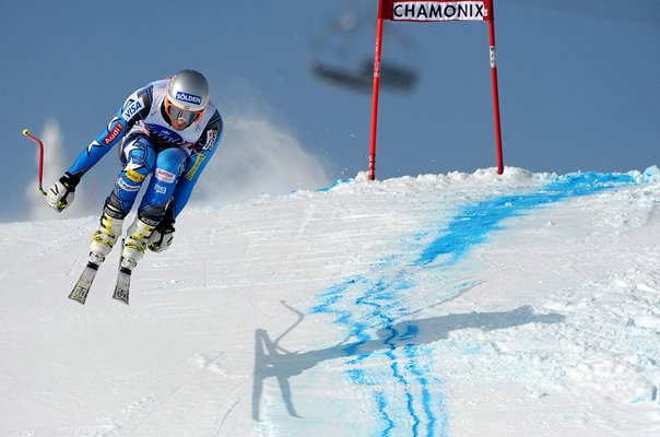 Bode Miller USA Downhill World Cup Chamonix France 2012