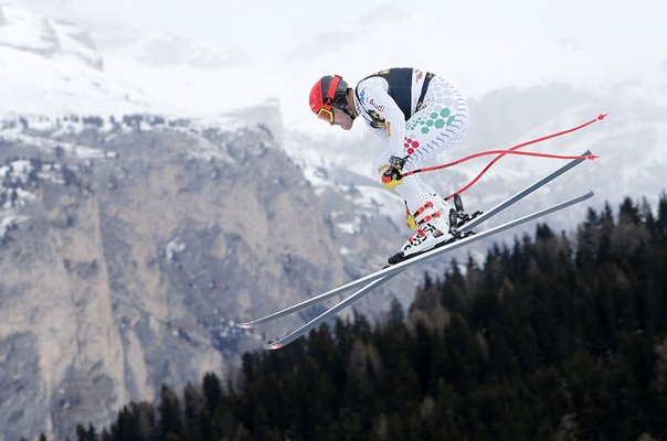 Christof Innerhofer Italy Downhill World Cup Val Gardena Italy 2018