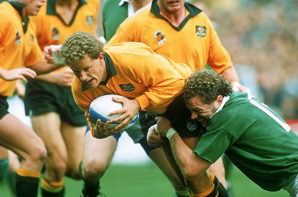 Australia v Ireland Rugby World Cup Semi Final Dublin 1991