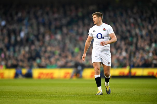 Owen Farrell England captain v Ireland Dublin 6 Nations 2019