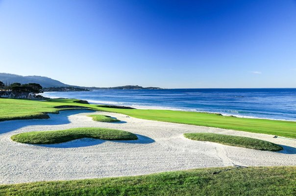 10th Green Par 4 Pebble Beach Golf Links California USA