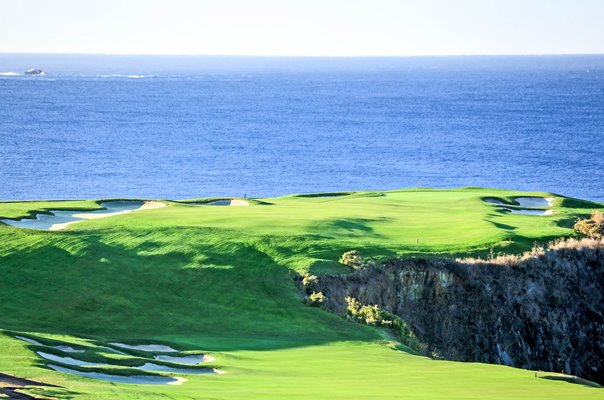 6th Hole Par 5 Pebble Beach Golf Links California USA
