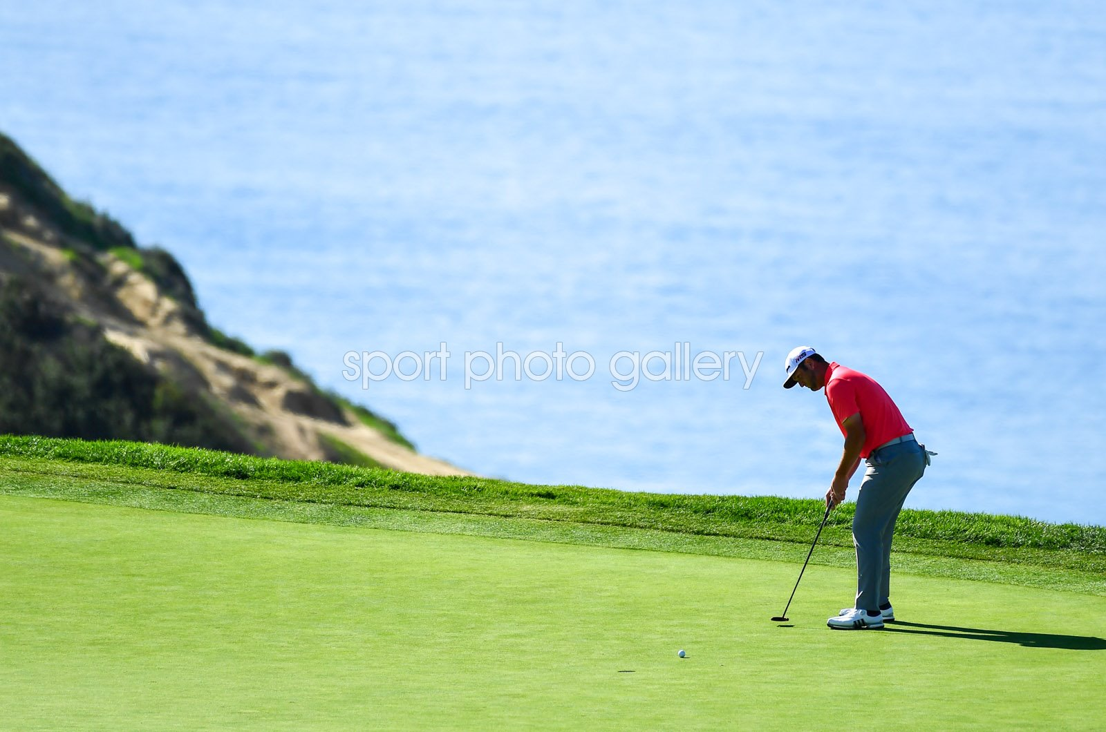 Jon Rahm Torrey Pines South Course San Diego California 2019