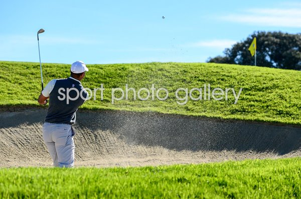 Tiger Woods Bunker Shot South Course Torrey Pines 2019