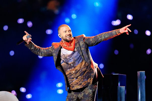 Justin Timberlake Super Bowl Halftime Show Minneapolis 2018