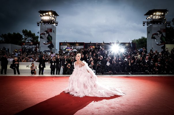 Lady Gaga Star is Born Screening Venice Film Festival 2018