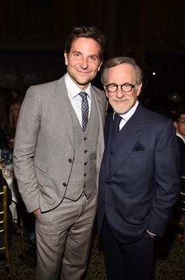 Bradley Cooper & Steven Spielberg New York City 2019