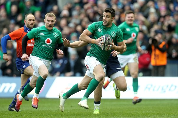Conor Murray Ireland v Scotland Edinburgh 6 Nations 2019