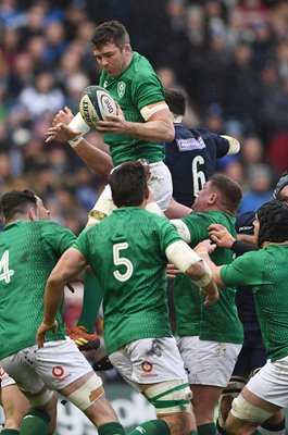 Peter O' Mahony Ireland v Scotland Murrayfield Six Nations 2019
