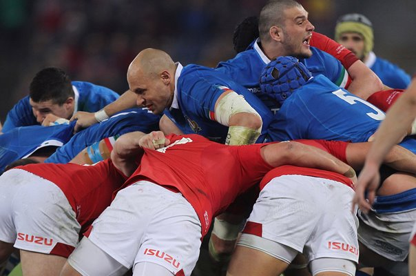 Sergio Parisse Italy v Wales Rome Six Nations 2019