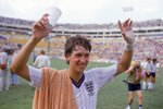 Gary Lineker England Hat-Trick v Poland Mexico World Cup 1986 Prints