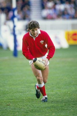 Jonathan Davies Wales v France Paris 5 Nations 1987