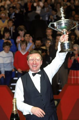 Dennis Taylor World Snooker Champion Crucible Sheffield 1985