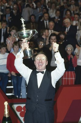 Dennis Taylor World Snooker Champion Sheffield 1985