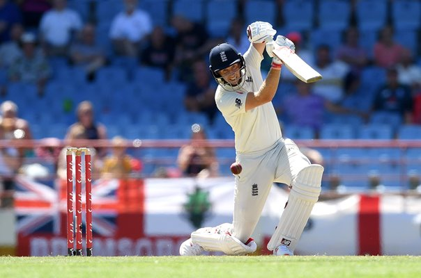 Joe Root England v West Indies 3rd Test St Lucia 2019