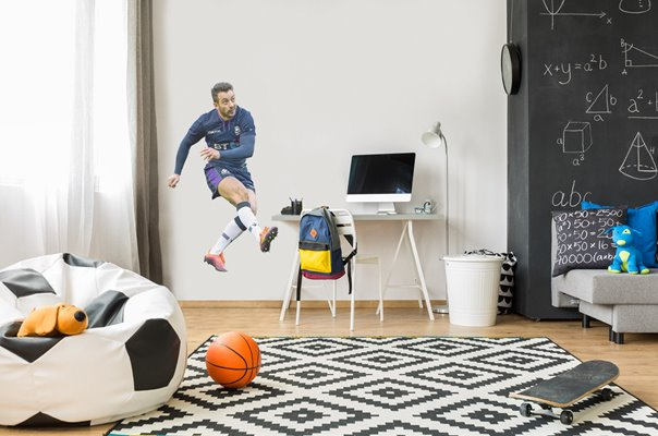 GREIG LAIDLAW SCOTLAND V IRELAND MURRAYFIELD SIX NATIONS 2019 WALL STICKER