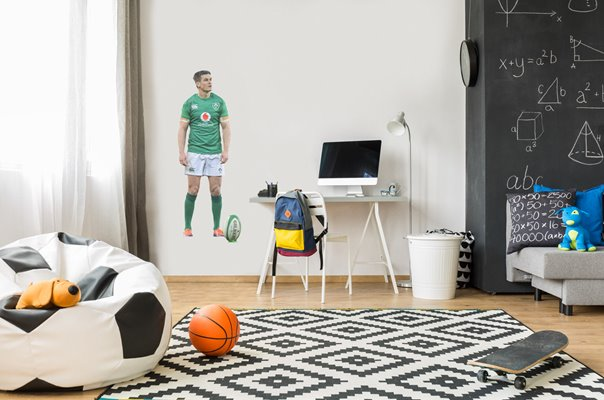 JONATHAN SEXTON IRELAND V ENGLAND DUBLIN SIX NATIONS 2019 WALL STICKER