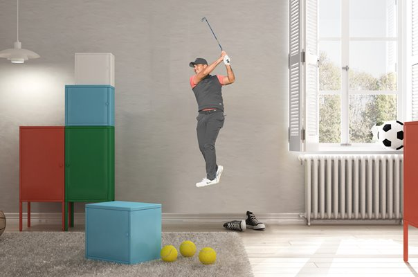 JASON DAY AUSTRALIA 10TH HOLE PEBBLE BEACH PRO-AM 2019 WALL STICKER