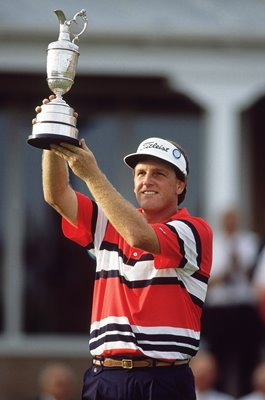 Mark Calcavecchia USA British Open Champion Troon 1989