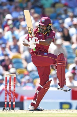 Chris Gayle West Indies v England Bridgetown Barbados 2019