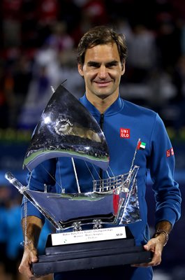 Roger Federer wins 100th Career Title Dubai ATP Tour 2019