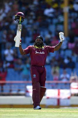 Chris Gayle West Indies Whirlwind 50 v England St Lucia 2019