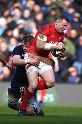 Hadleigh Parkes Wales v Scotland Murrayfield Six Nations 2019