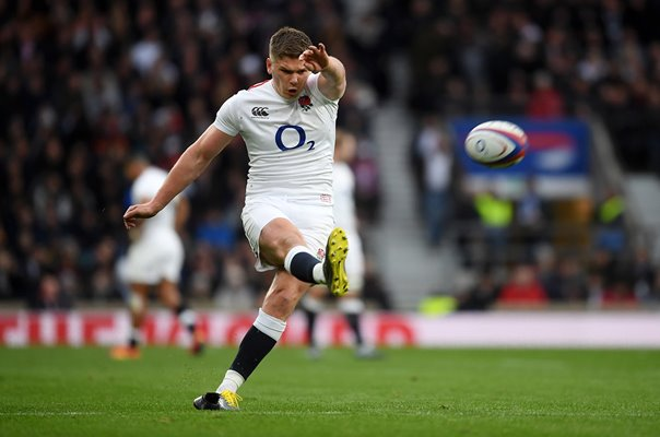 Owen Farrell England v Italy Six Nations Twickenham 2019