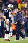 Tom Brady & Bill Belichick New England Patriots AFC Championship 2015 Prints